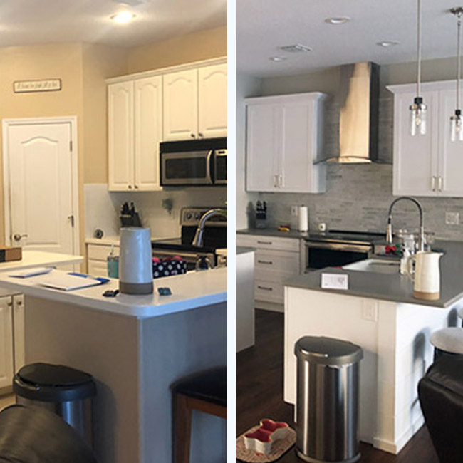 Cotter Kitchen Before and After
