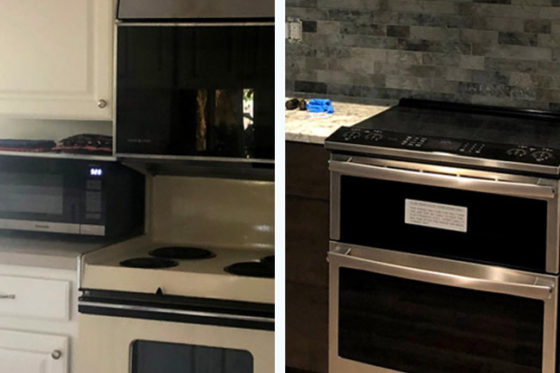 Fox Kitchen Before & After