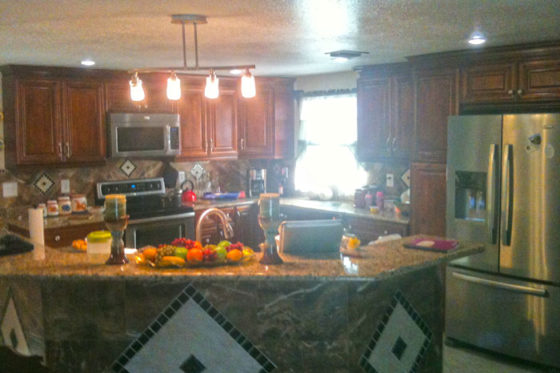New Kitchen, New Floors NPR