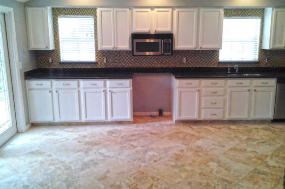 New Kitchen, New Floors Tampa