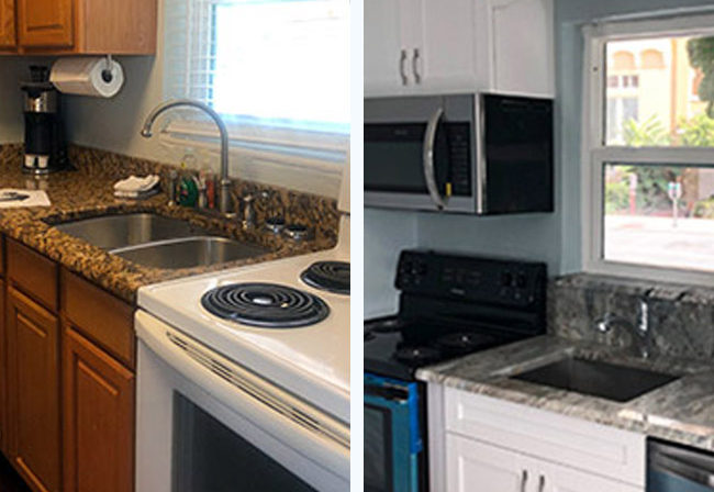 Zampella Kitchen Before & After