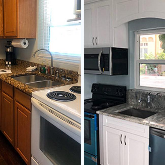 Zampella Kitchen Before & After