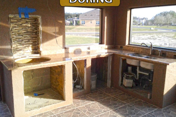 Outdoor Kitchen Addition