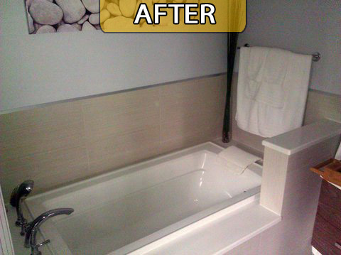 Bathroom Remodeling Before, During & After