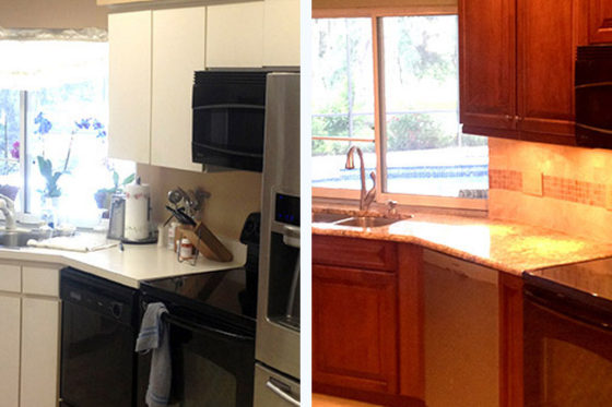 Morrison's Kitchen Before and After